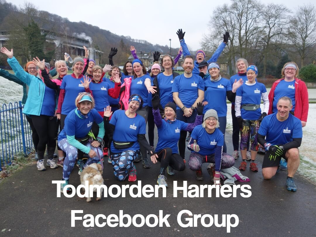 Feedback from Todmorden Harriers Facebook Group