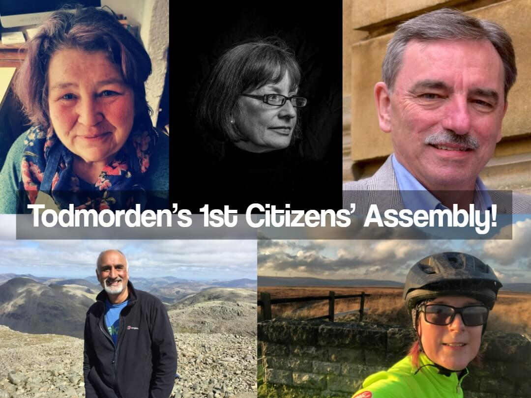 Over 150 People Take Part in Todmorden's 1st Citizens' Assembly!
