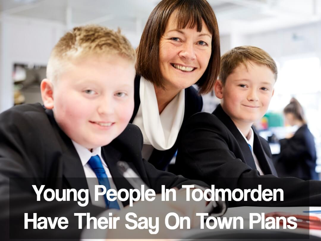 Young People Share Their Ideas On The Future Of Their Town