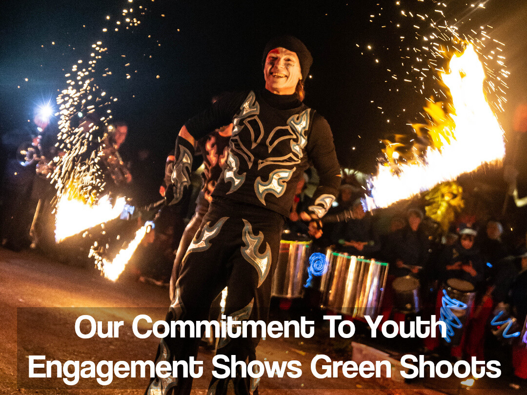 Our Commitment To Youth Engagement Shows Green Shoots